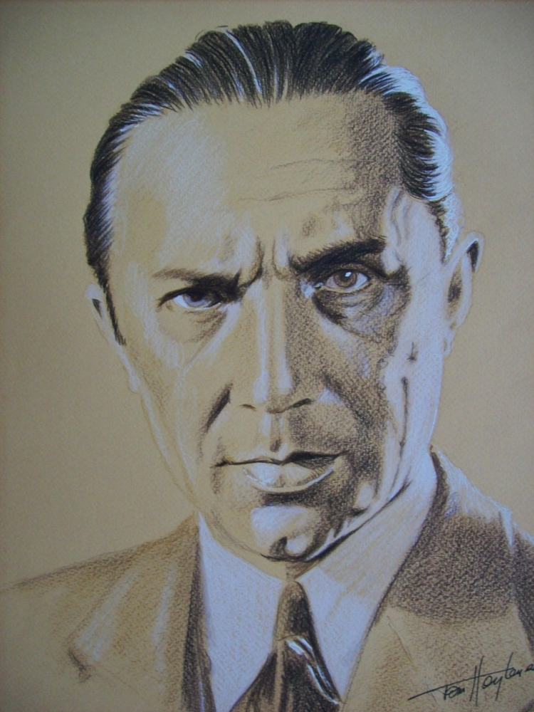Bela Lugosi by Tom-Heyburn